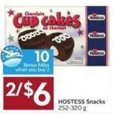 Hostess Snacks 252-320 g - 10 Air Miles Bonus Miles
