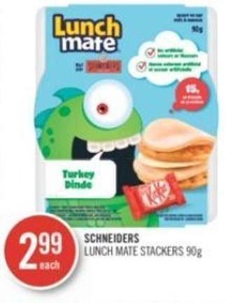 Schneiders Lunch Mate Stackers 90 g