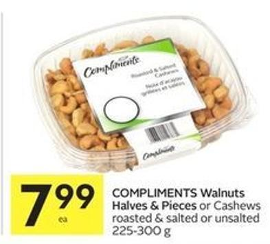 Compliments Walnuts Halves & Pieces