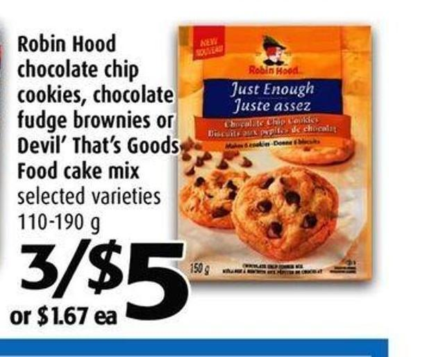 Robin Hood Gingerbread Cake Mix
