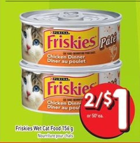 Friskies Wet Cat Food 156 g