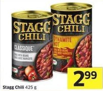 Stagg Chili 425 g