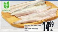 Fresh Wild Caught Pickerel Fillets