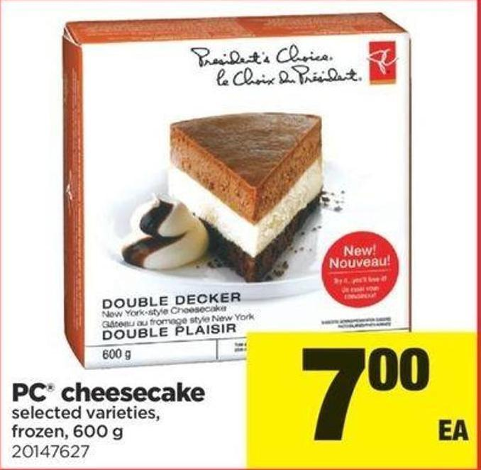 PC Cheesecake - 600 G