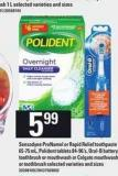Sensodyne Pronamel Or Rapid Relief Toothpaste - 65-75 Ml - Polident Tablets - 84-96's - Oral-b Battery Toothbrush Or Mouthwash Or Colgate Mouthwash Or Toothbrush