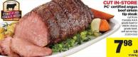 PC Certified Angus Beef Sirloin Tip Steak
