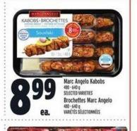 Marc Angelo Kabobs | Brochettes Marc Angelo