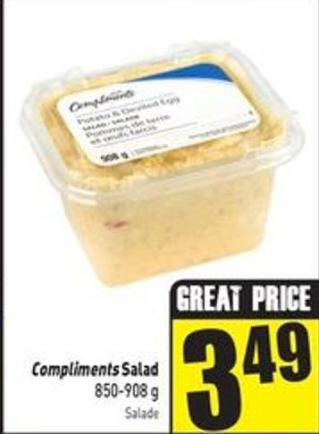 Compliments Salad 850-908 g