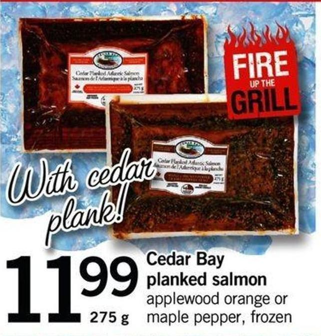 Cedar Bay Planked Salmon - 275 G
