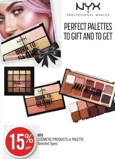 Nyx Cosmetic Products or Palette