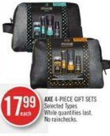 Axe 4-piece Gift Sets