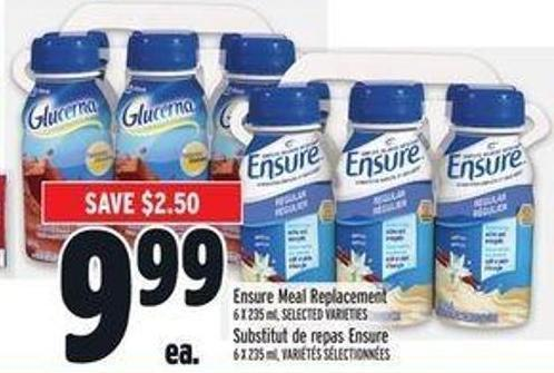 Ensure Meal Replacement