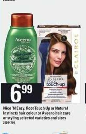 Nice 'N Easy - Root Touch-up Or Natural Instincts Hair Colour Or Aveeno Hair Care Or Styling