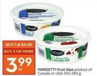 Marzetti Fruit Dips Product of Canada or USA 255-283 g