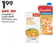 Campbell's or Longo's Broth