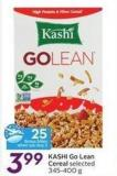 Kashi Go Lean Cereal - 25 Air Miles