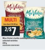 Miss Vickie's Kettle Cooked Potato Chips - 220 g