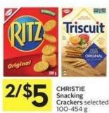 Christie Snacking Crackers