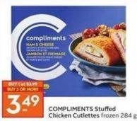 Compliments Stuffed Chicken Cutlettes