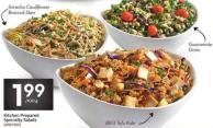 Kitchen Prepared Specialty Salads