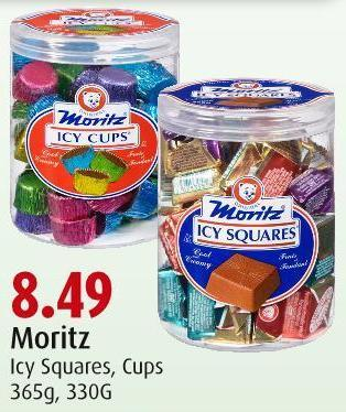 Moritz Icy Squares - Cups 365g - 330g