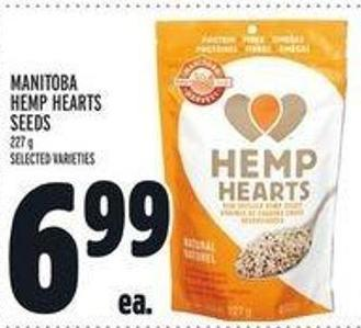 Manitoba Hemp Hearts Seeds