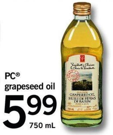 PC Grapeseed Oil - 750 mL
