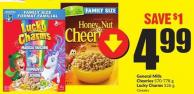 General Mills Cheerios 570-778 g Lucky Charms 526 g