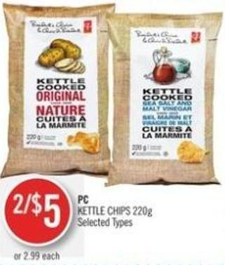 PC Kettle Chips 220g