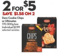 Dare Cookie Chips or Ultimates 170-300g Box