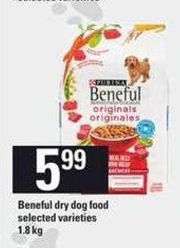 Beneful Dry Dog Food - 1.8 Kg