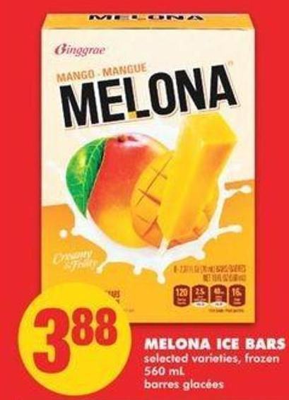 Melona Ice Bars - 560 Ml