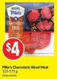 Piller's Charcuterie Sliced Meat 125-175 g