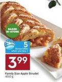Family Size Apple Strudel 400 g - 5 Air Miles Bonus Miles