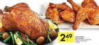Compliments Whole Chicken Air-chilled or Family Size Chicken Leg Quarters