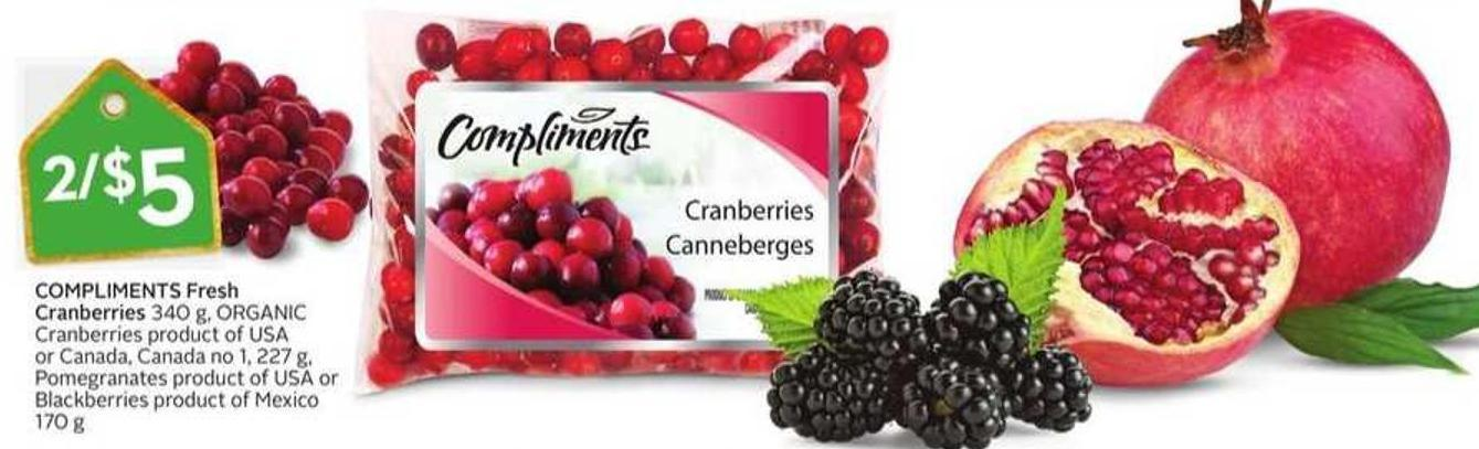 Compliments Fresh Cranberries