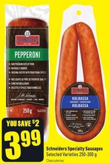 Schneiders Specialty Sausages Selected Varieties 250-300 g