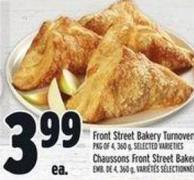 Front Street Bakery Turnovers
