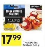 The Keg Sea Scallops 340 g