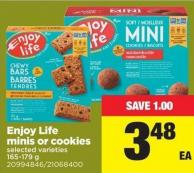 Enjoy Life Minis Or Cookies - 165-179 g