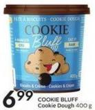Cookie Bluff Cookie Dough 400 g