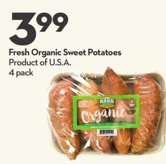 Fresh Organic Sweet Potatoes