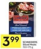 Schneiders Sliced Meats 150-175 g