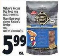 Nature's Recipe Dog Food 100 g