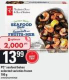 PC Seafood Bakes - 700 G