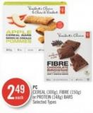 PC Cereal (300g) - Fibre (150g) or Protein (148g) Bars