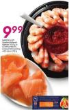 Vasco & Co Smoked Atlantic Salmon 300 g or Compliments Cooked Shrimp Ring With Sauce 312 g