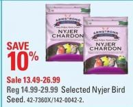 Selected Armstrong Nyjer Bird Seed