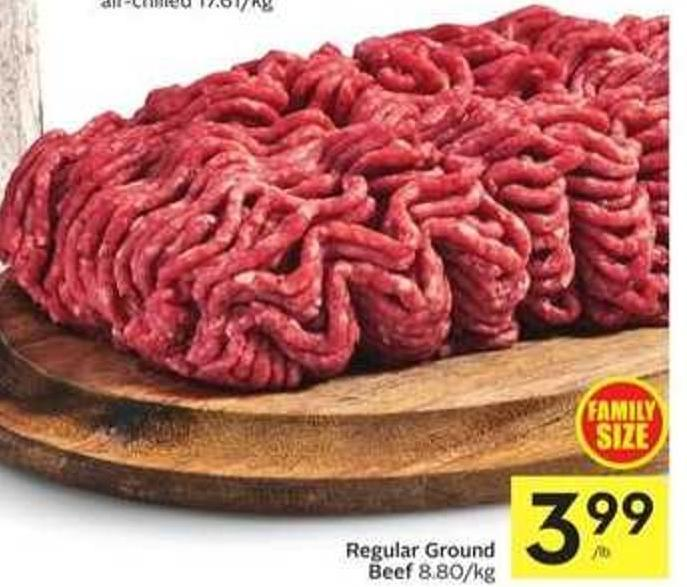 Regular Ground Beef