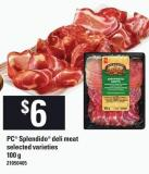 PC Splendido Deli Meat - 100 g